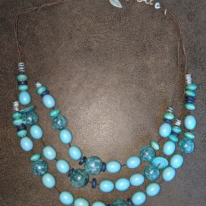Coldwater Creek Beaded Necklace